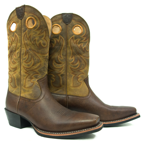 Ariat International Alcalas Western Wear Men S Brown