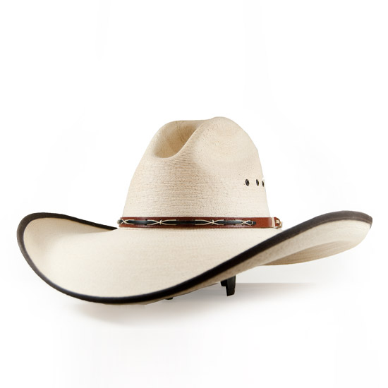 Texas Hat Co Alcalas Western Wear 30x Western Palm Leaf