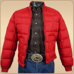 Walls Alcalas Western Wear Red Down Jacket Material 100