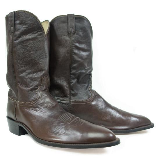 Dan Post Alcalas Western Wear Men S Brown Elkskin Cowboy