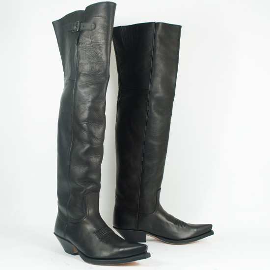 Sendra Alcalas Western Wear Men S Supe Tall Black Cowhide