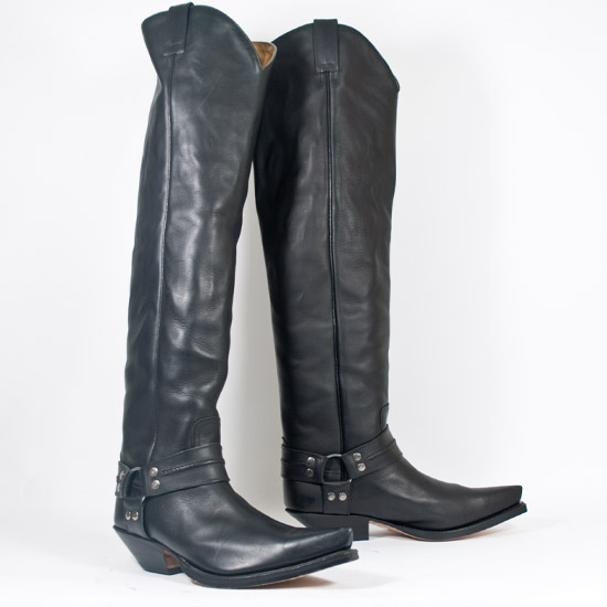 Sendra Alcalas Western Wear Men S Black Cowhide Tall