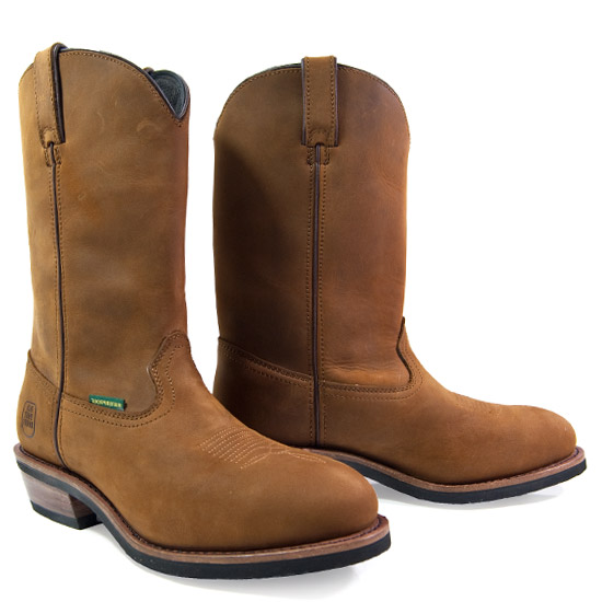 Dan Post: Alcalas Western Wear Men's Tan Oiled Cowhide Work Boot ...