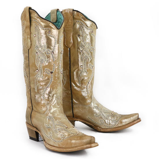 Corral Boots Metallic Embroidered Boots