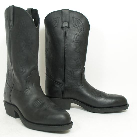 Durango Alcalas Western Wear Men S Black Oiled Leather