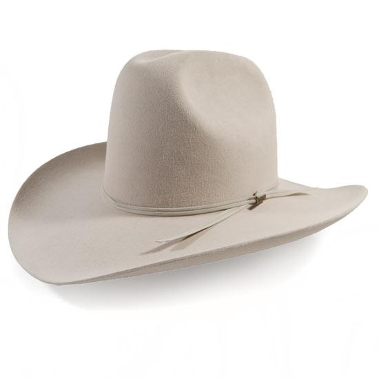 Resistol Alcalas Western Wear Silver Belly Western 6x Fur