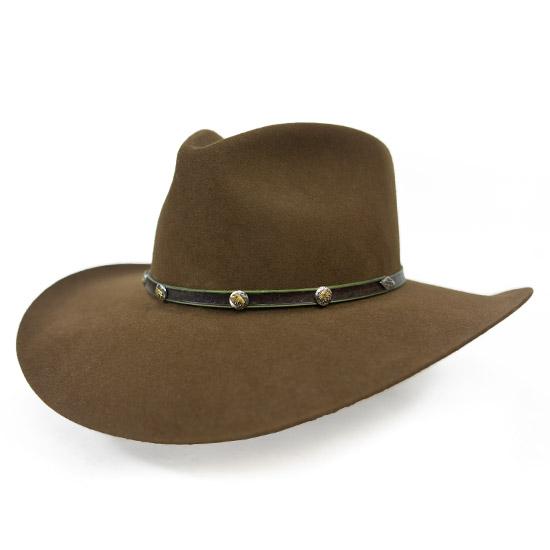 Stetson  Alcalas Western Wear Men s 4X Mink