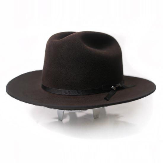 0e79907ab601a ... Classic Cowboy Hat Open Road  Stetson  Alcalas Western Wear Men s 6X  Chocolate