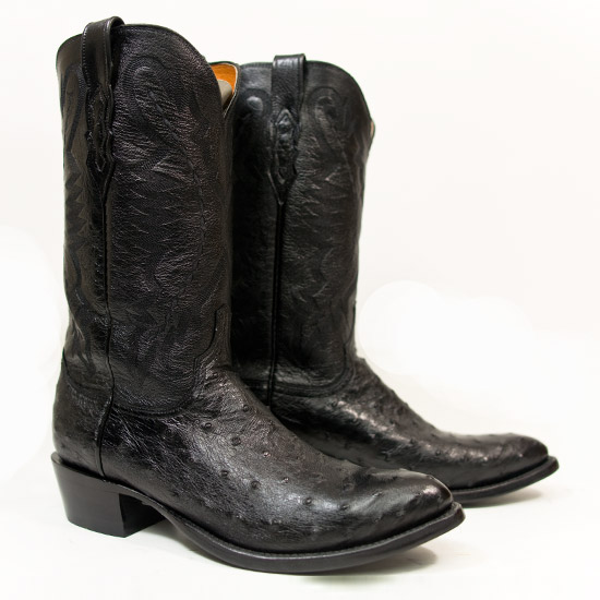 Lucchese Alcalas Western Wear Men S Black Genuine Full